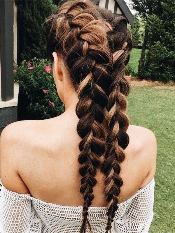 Braided Hairstyle Ideas #Braids...
