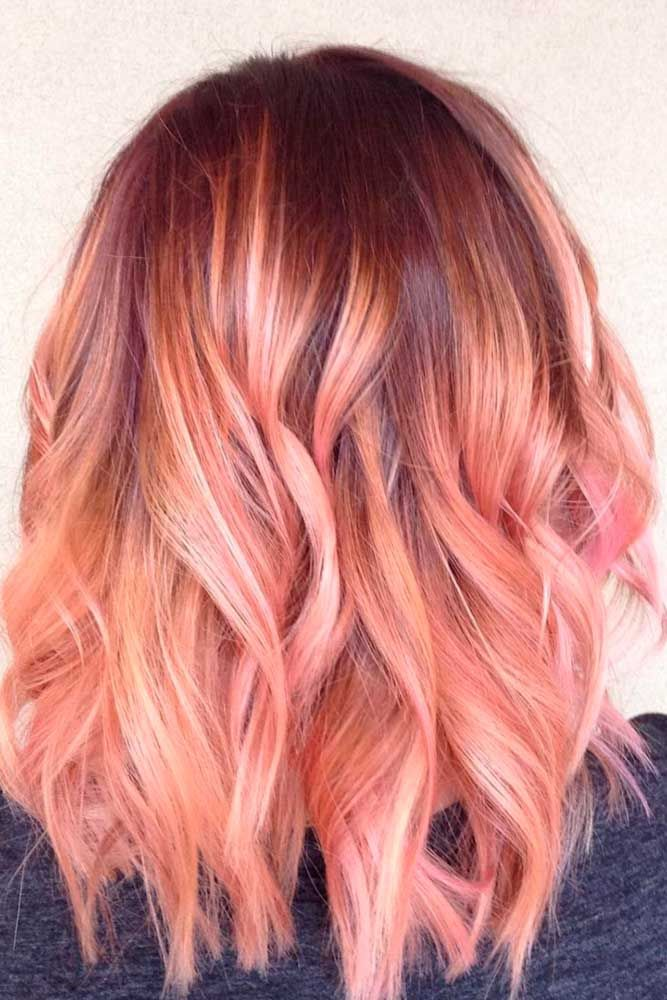 Strawberry blonde hair has always been a pretty choice. Thanks to modern hair st...