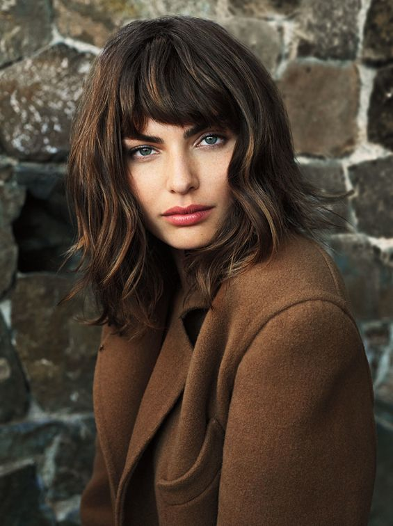 all about the bangs #hair #beauty