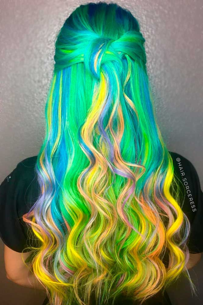 Green hair is a fun way to spice up your style. Check out these awesome ideas fo...