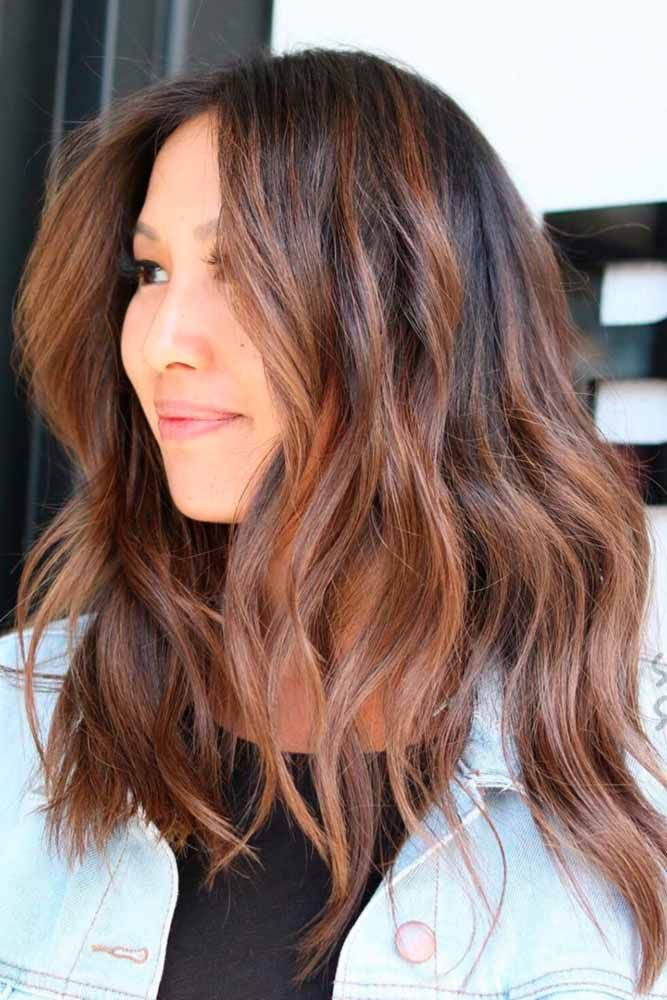 Brown hair with highlights can be quite stunning. With all of the styling option...