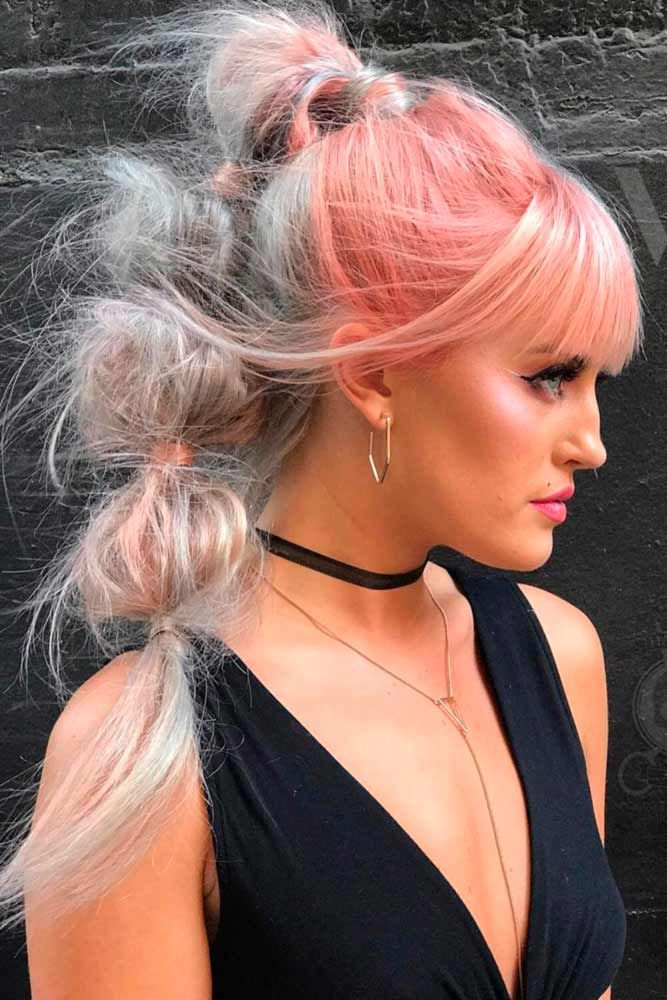 Cotton candy hair really pleases the eyes. It is far from being usual, and this ...