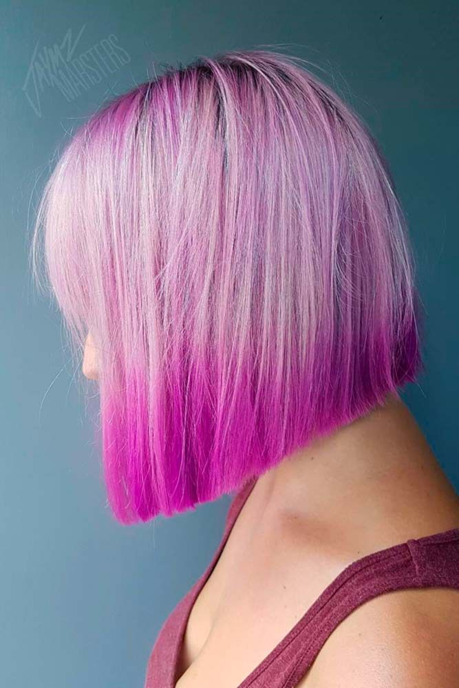 A magenta hair color allows you to show everyone how creative and bold you are. ...
