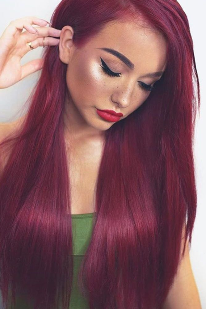 Red hair is really cool, but it's very important to choose the right shade for...