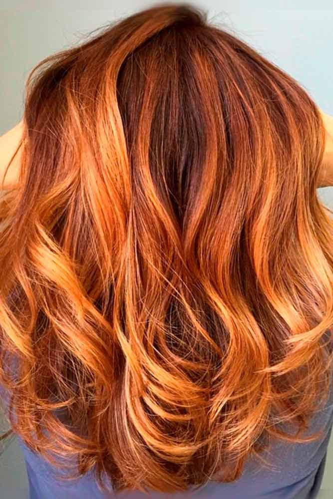Auburn hair is always gorgeous.  From bold cherry reds to subtle auburn tips, th...