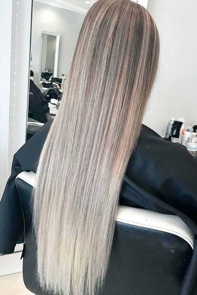 Try platinum blonde hair shade if you want to stand out from the crowd. This col...