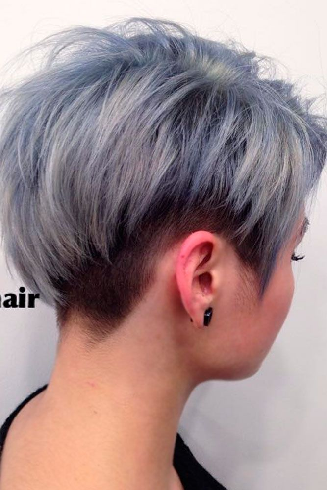 Short grey hair cuts  for your stylish and cheeky look