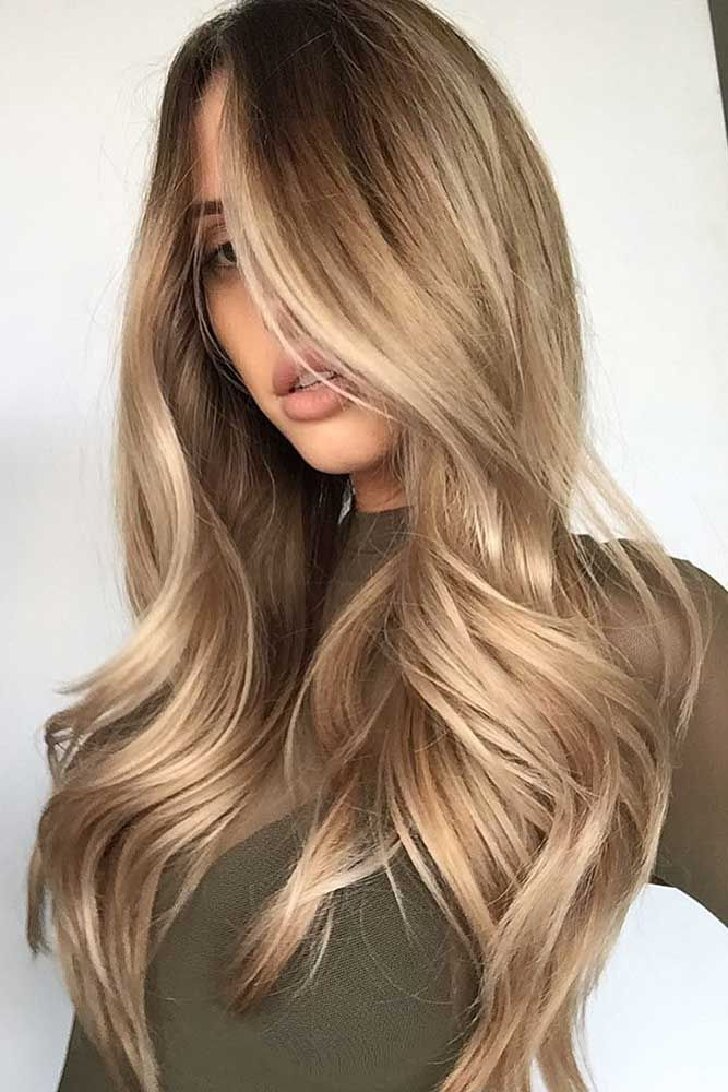 27 Light Brown Hair Colors That Will Take Your Breath Away ❤ Golden Light Brow...