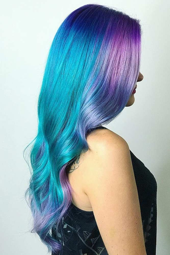 Pastel hair colors speak not only about the rebellion within you but also about ...