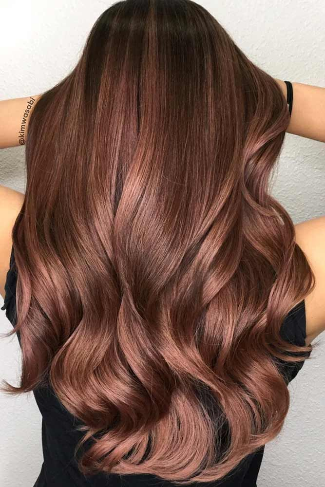 Dark brown hair is beating all the charts these days. And there is no wonder why...