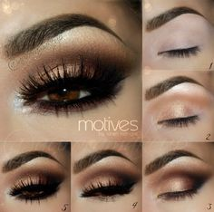 Step By Step Smokey Eye Makeup Tutorials                                        ...