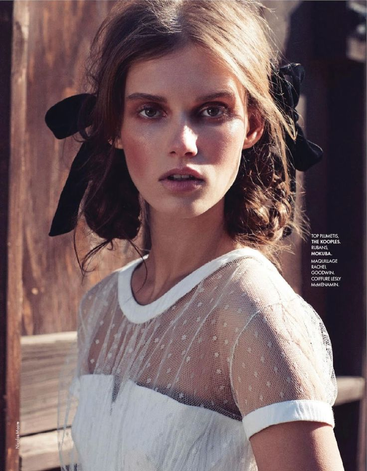 giedre dukauskaite by nicolas moore for elle france 10th january 2014