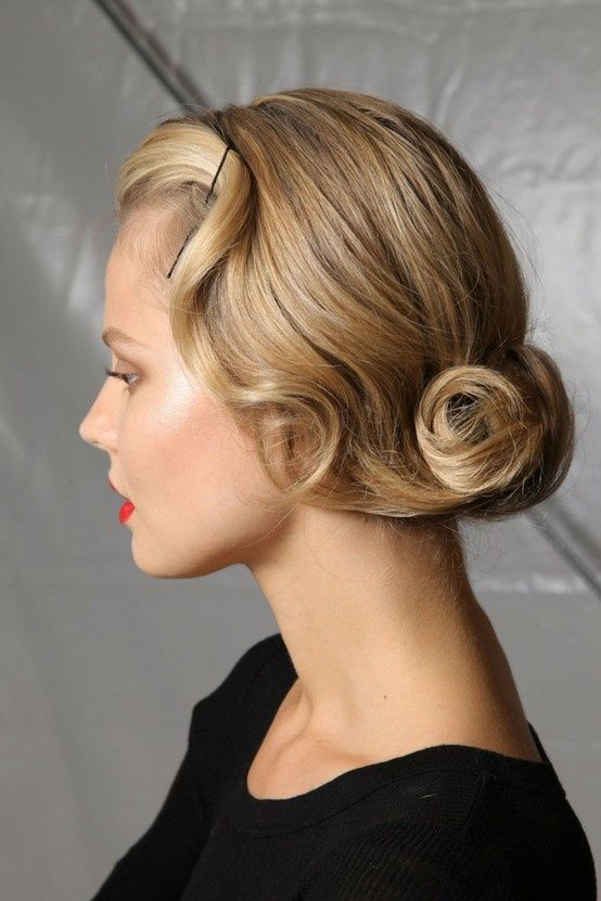 50's hairstyle