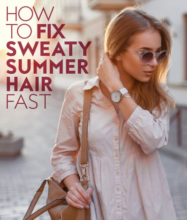 A good hair day is no sweat.