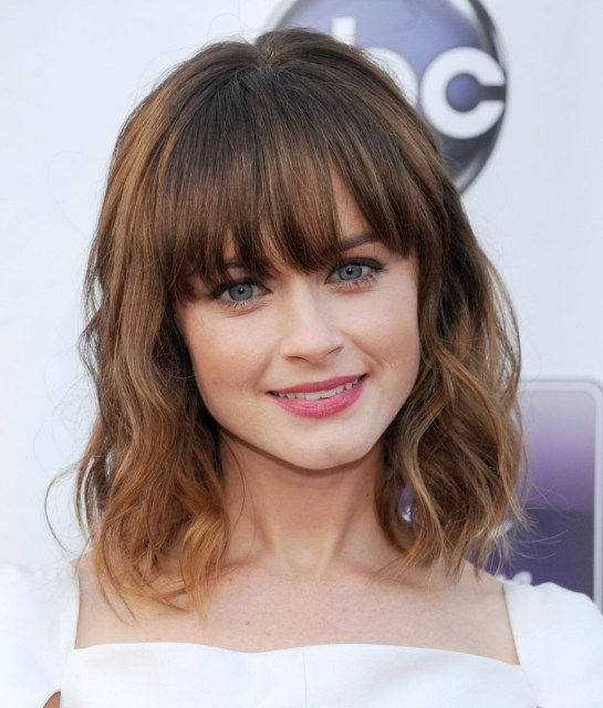 Alexis Bledel - Alexis Hair Appreciation #5: Because Remember Sunday has us reme...