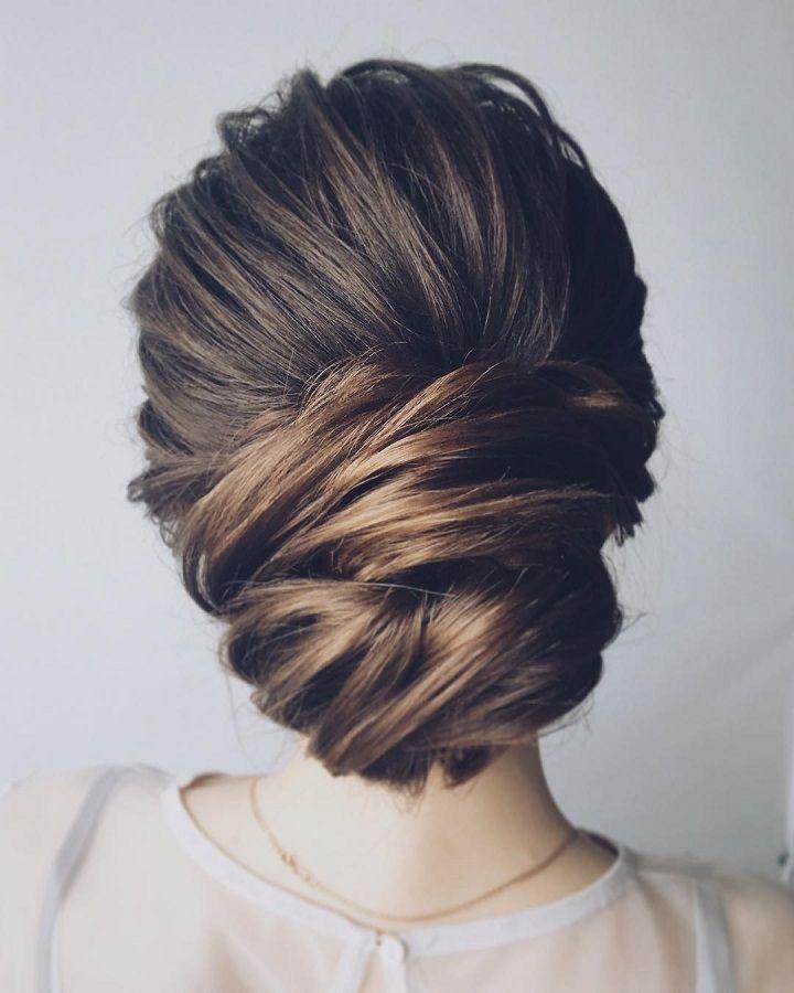Beautiful chignon wedding hairstyle | fabmood.com #hairstyle #chignon #weddingha...