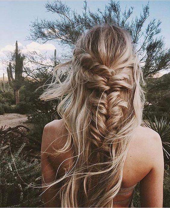 Gorgeous braided hair