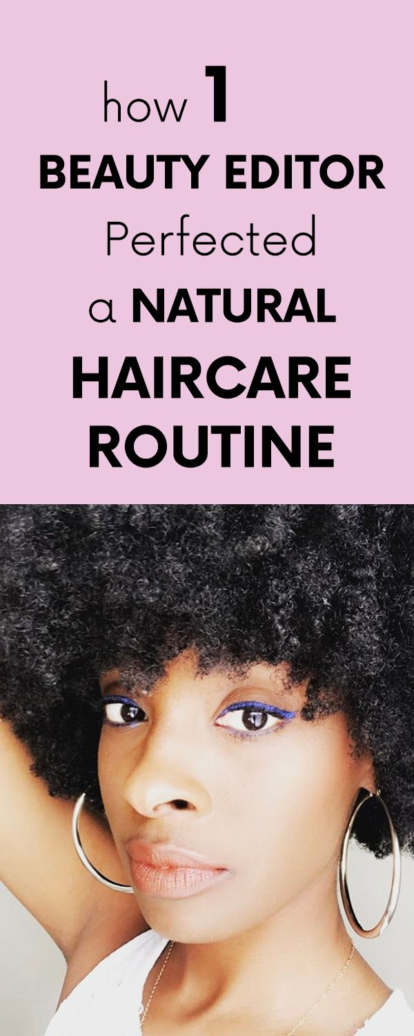 How 1 Beauty Editor Perfected a Natural Haircare Routine