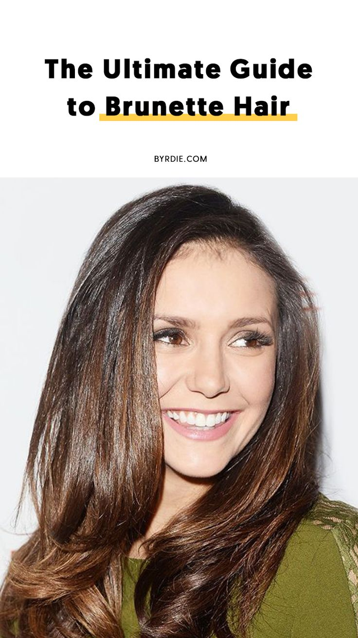 How to choose a shade of brunette...