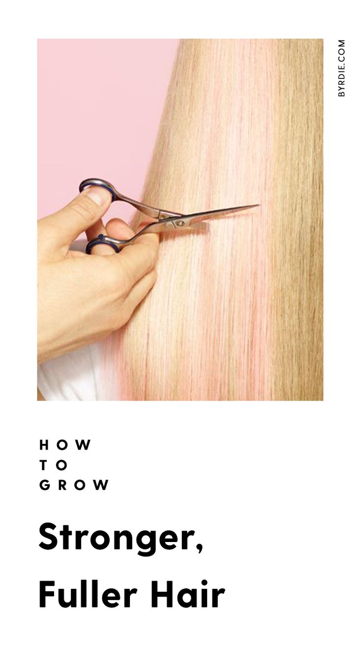 How to get stronger hair...