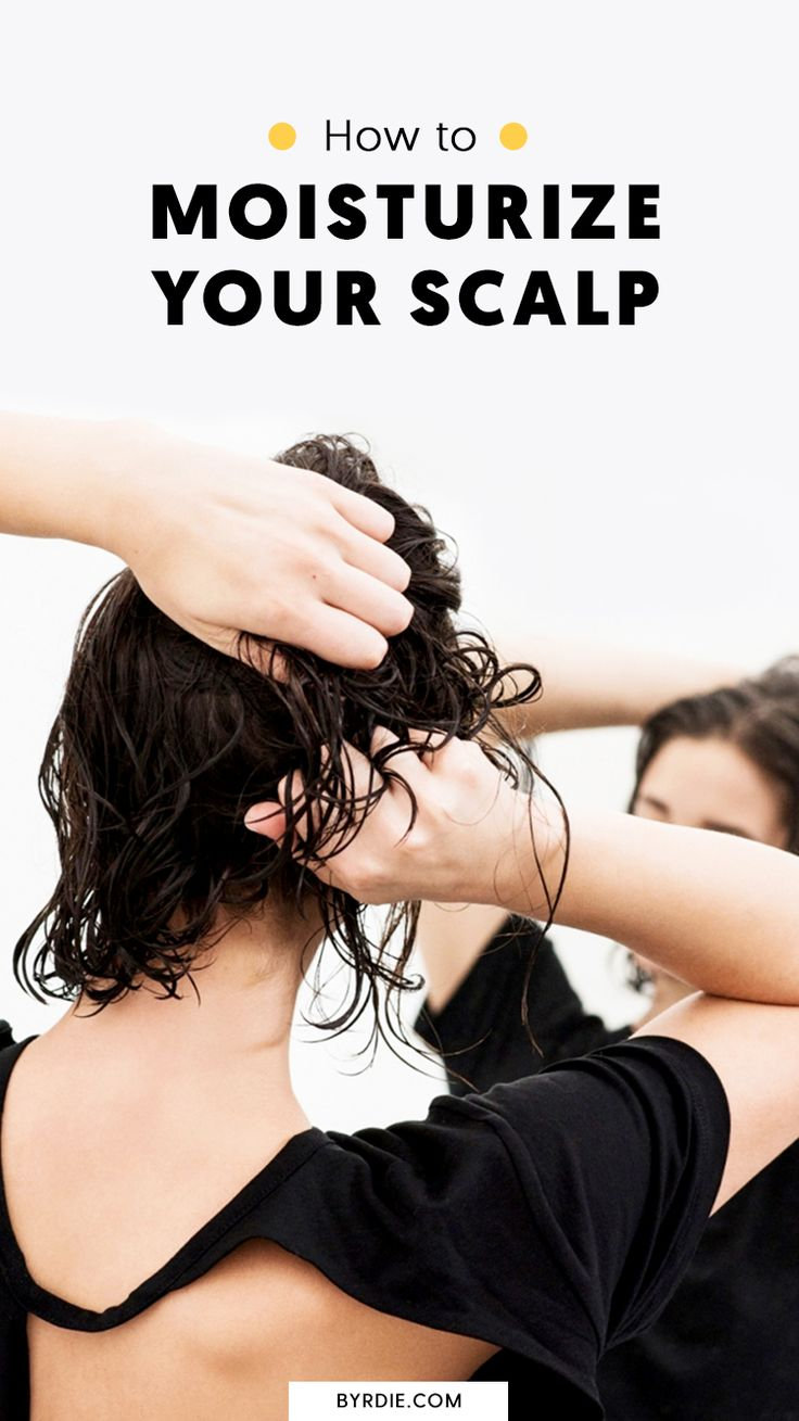 How to moisturize your scalp
