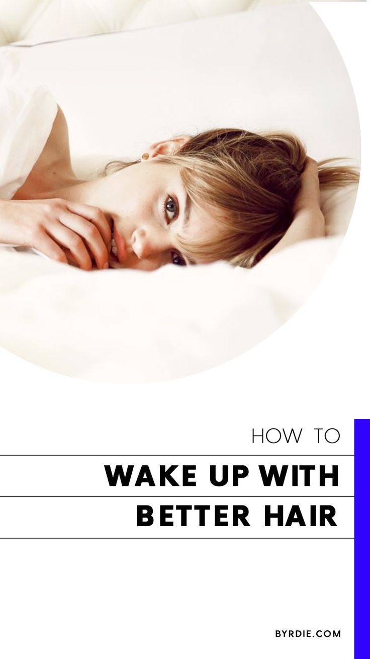 How to wake up with better hair