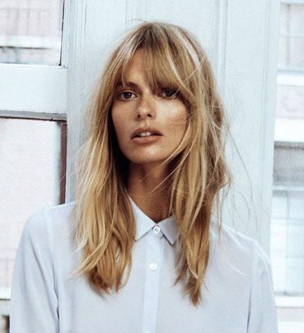 Best Hairstyles For 2017 2018 Julia Stegner Medium Length Hair With Fringe Bangs Flashmode Middle East Middle East S Leading Fashion Modeling Luxury Agency Featuring Fashion Beauty Inspiration Culture