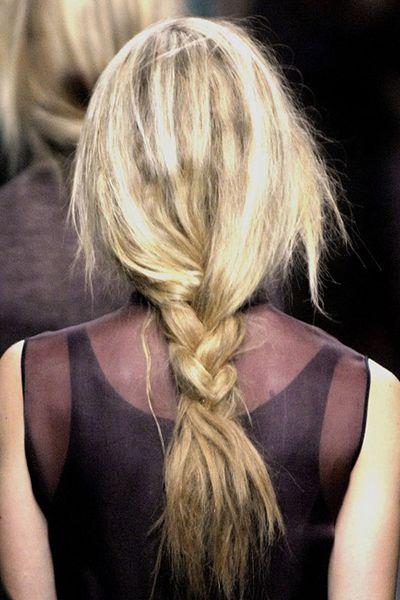 loose braid #planetblue