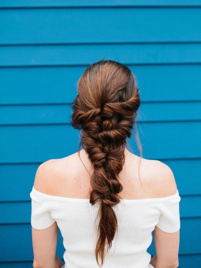 Mermaid Braid Hair Tutorial || It's easier than it looks, I promise!