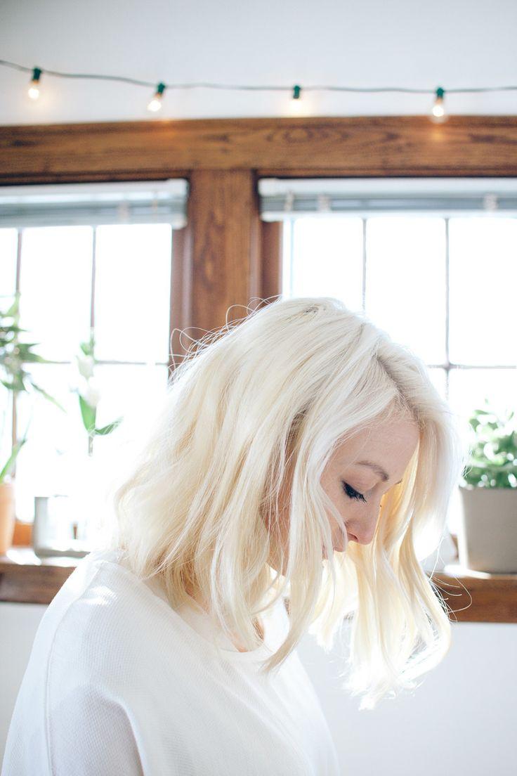 platinum blonde...