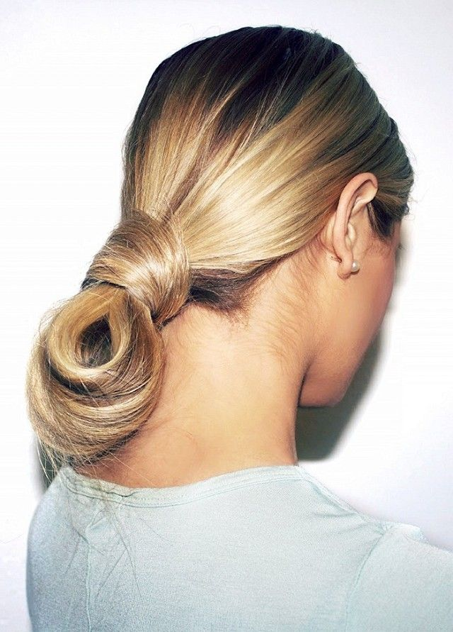 Sleek Twisted Bun – Beauty Ideas, New Years Eve Hair & Makeup...