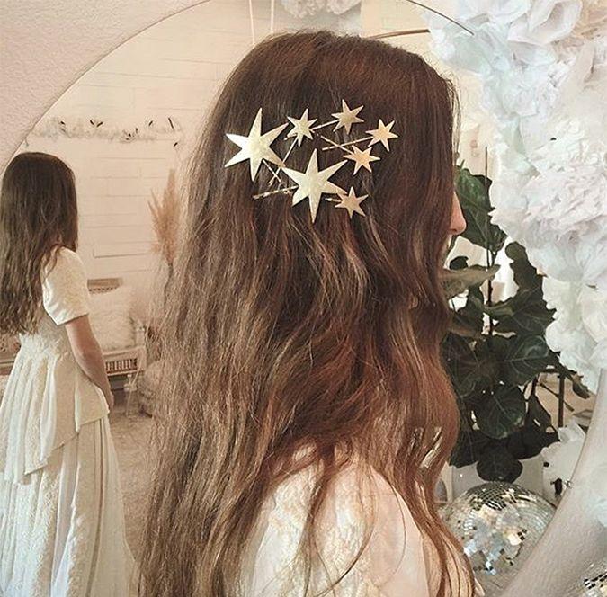 Starry hair