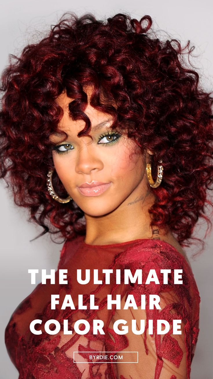 The best fall hair colors...