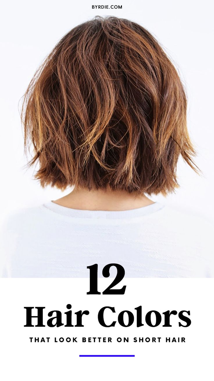 The best hair colors for short hair