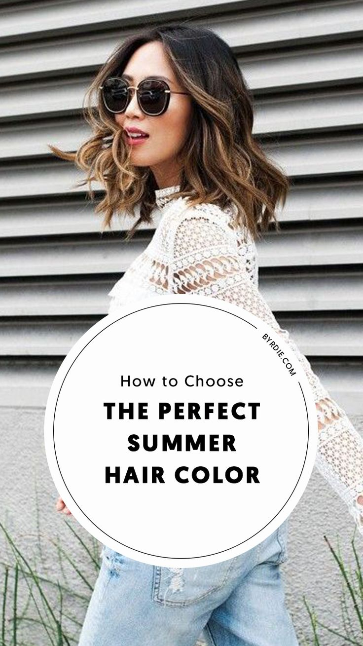 The best hair colors for summer