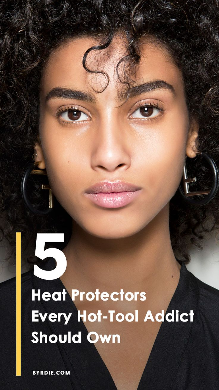 The best heat protectants for your hair type