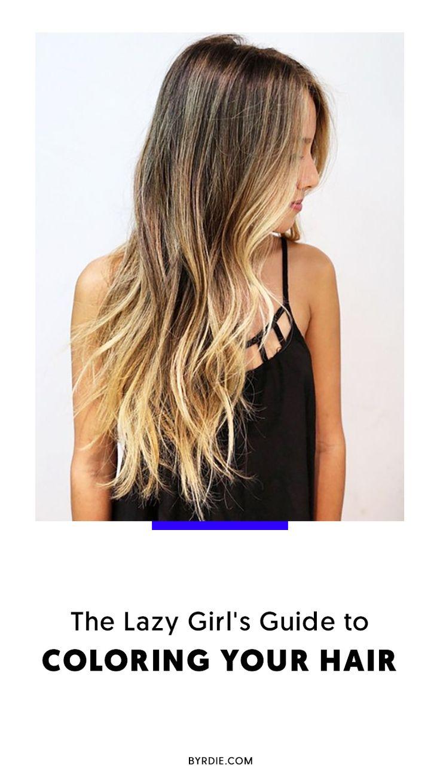 The best low-maintenance hair colors
