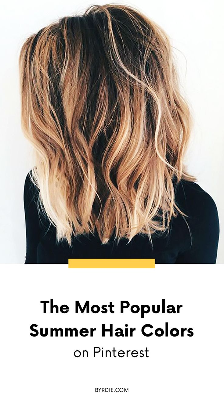 Hair Color 2018 Summer Pinterest 51 Blonde And Brown Hair Color