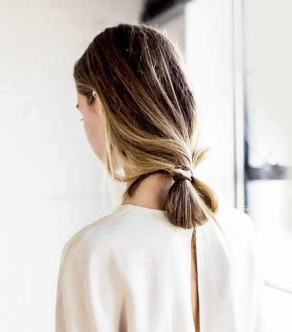The Looped Low Bun...