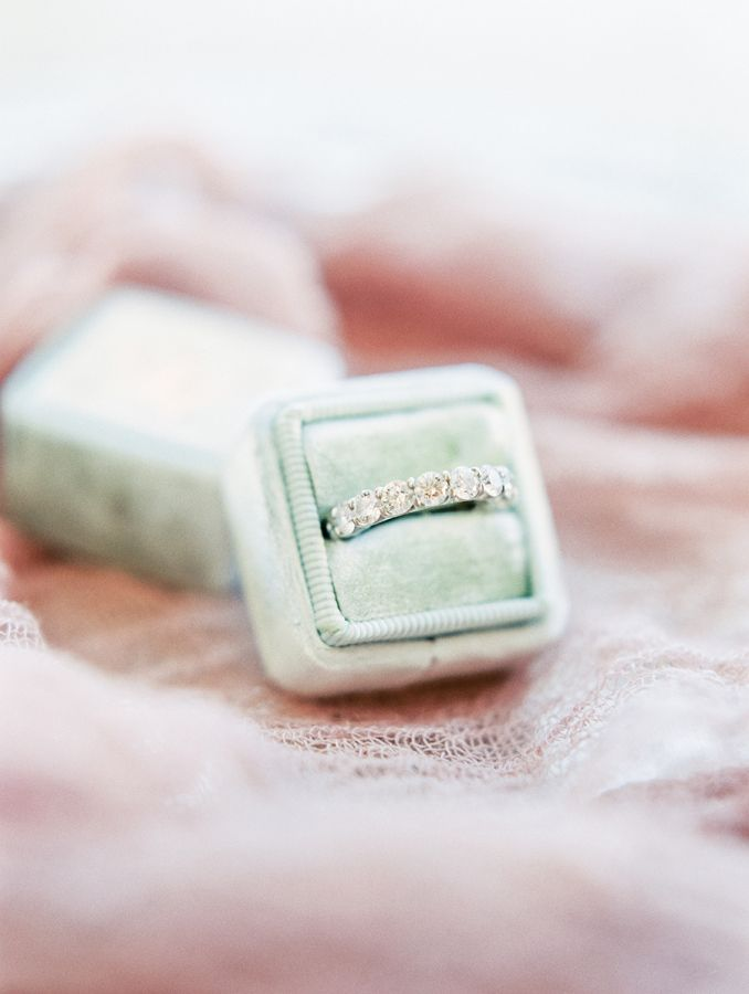 A wedding band that will definitely turn heads: www.stylemepretty... Photography...