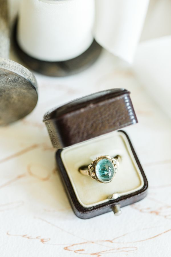 Beautiful vintage ring: www.stylemepretty... Photography: CLY by Matthew - www.c...