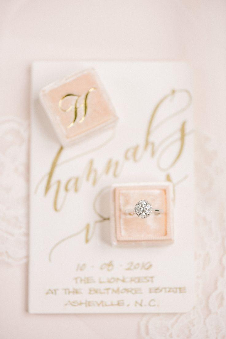 Circle-cut diamond ring: Wedding Dress: Martina Liana - www.stylemepretty... Pho...