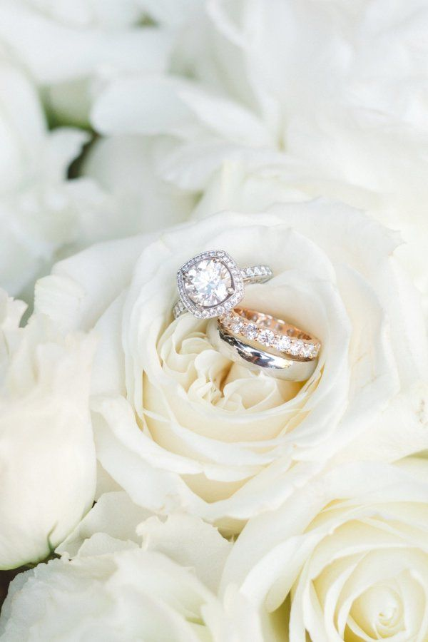 Circle-cut diamond ring: www.stylemepretty... Photography: Anna Delores - www.an...