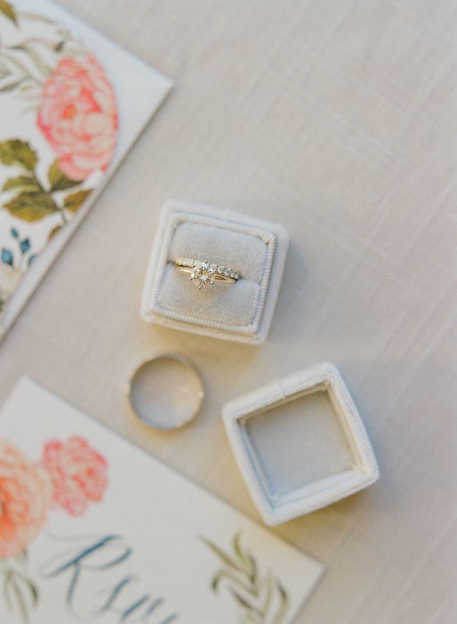 Circle-cut diamond ring: www.stylemepretty... Photography: Emily Katharine - www...
