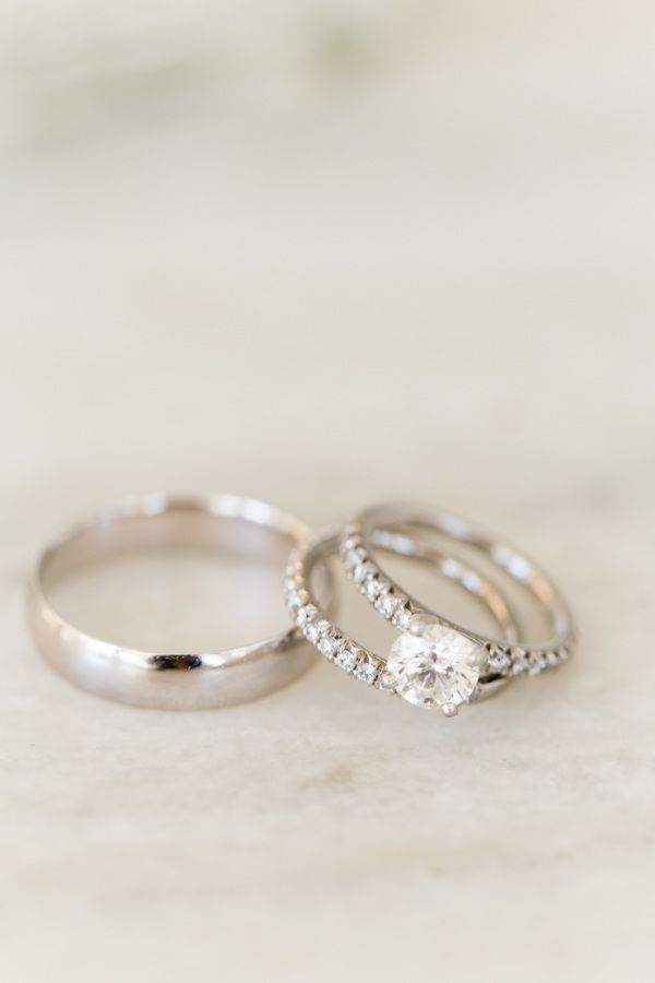 Circle-cut engagement ring: www.stylemepretty... Photography: Ben Q - benqphotog...