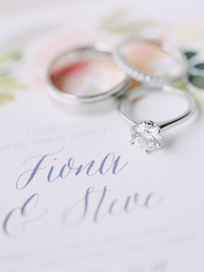 Circle-cut engagement ring: www.stylemepretty... Photography: Bethany Erin - www...