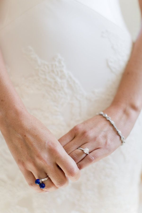 Circle-cut engagement ring: www.stylemepretty... Photography: Melissa Kruse - ww...