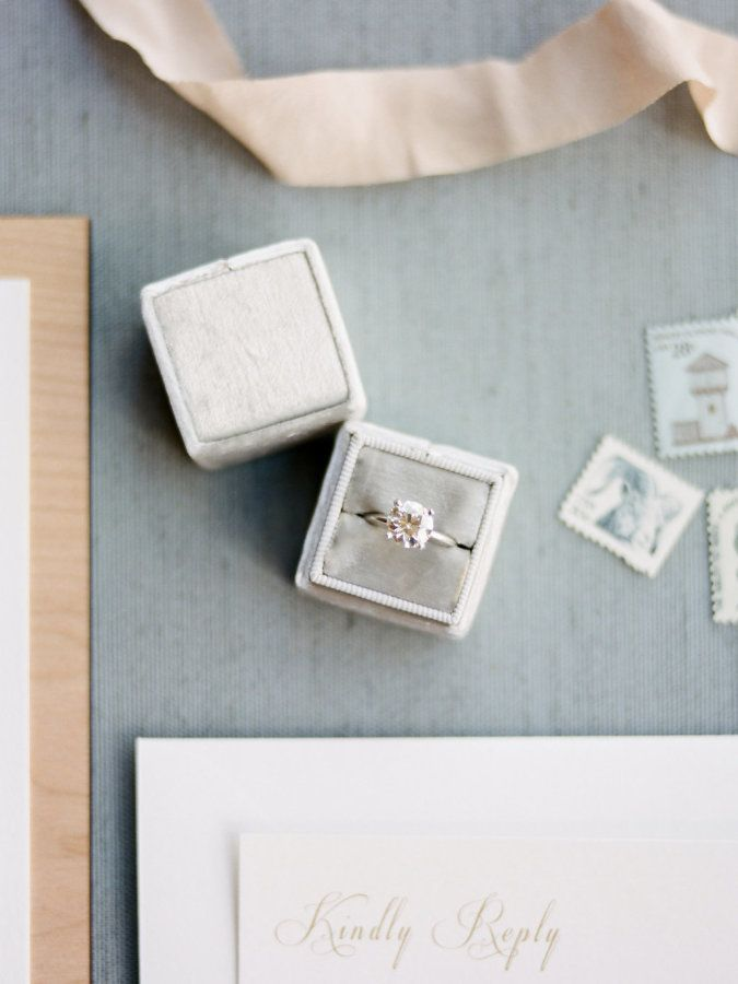 Circle-cut engagement ring: www.stylemepretty... Photography: Rachel Havel - rac...