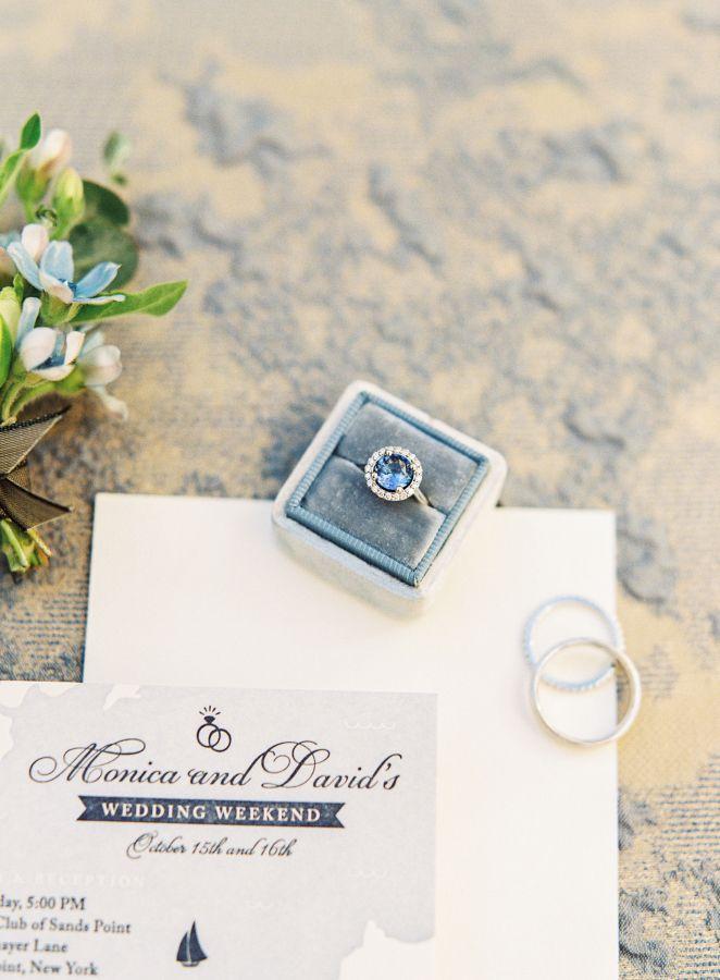 Circle-cut engagement ring: www.stylemepretty... Photography: Sawyer Baird - www...