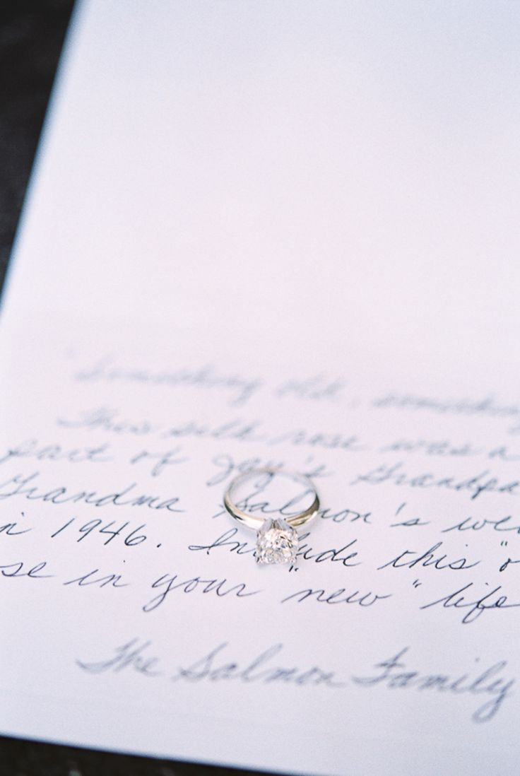 Classic solitaire engagement ring: Photography : Karen Ann Photography  Read Mor...